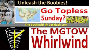 The Backlash: Go Topless Sunday