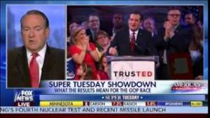 Mike Huckabee: Super Tuesday Showdown