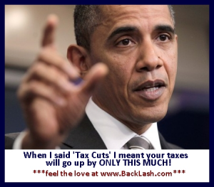 Obama Tax Cuts Feel The Love