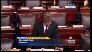 Rand Paul Filibuster on PATRIOT Act Extension (1st 3 hours) - May 20, 2015